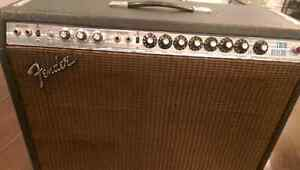 Vintage Fender  Silverface Twin Reverb Amp from the 1970's