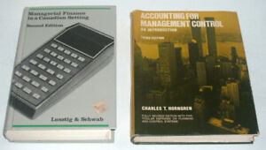 Management Finance & Accounting Books (2 of)