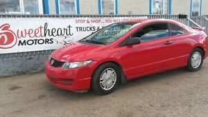 2010 Honda Civic DX Coupe 5-Speed AT FREE $500 GAS CARD