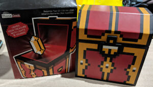 Legendary 8-Bit Treasure Chest with LED and Sound from ThinkGeek