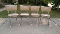 1950's 4 chairs great condition