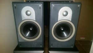 B&W SPEAKERS TWO PAIR REDUCED