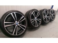 "Genuine BMW 3 4 Series 19"" M Sport Alloy Wheels And Tyres F30 F31 F32 F33 442M"