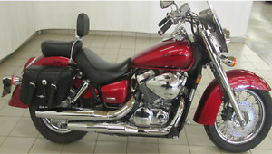 Honda Shadow, VT750C, 2008 Model - Red
