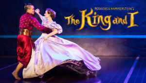 THE KING AND I - REAL FRONT ROW SEATS SEATS -NAC - MAR 13 AND 15
