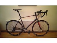 Giant Defy 5 Road Bike - 2014 - Charcoal Red - Medium/ Large s