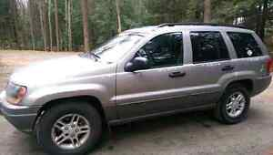 2002 JEEP GRAND CHEROKEE,TONS OF WORK DONE ,