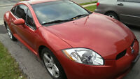 2006 Mitsubishi Eclipse GT 3.8L Coupe, Mint.. (2 door)170000km