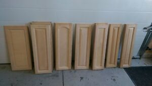 Cabinet Doors - Maple.