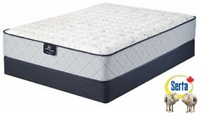 FIRM SUPPORT Serta QUEEN-Size Mattress set … BRAND NEW!