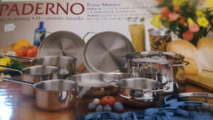 14 piece Paderno Prime Minister Pot