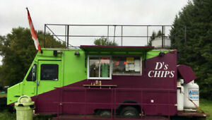 Chip Stand/ Fry Trailer/ Food Wagon for sale