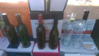 ATTENTION WINE MAKERS-empty wine bottles for sale
