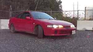2000 Integra with type r front end