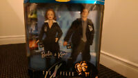 Barbie and Ken as Mulder and Scully - X-Files
