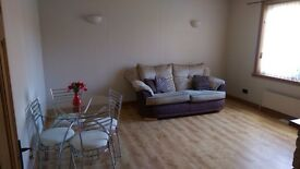 1 bedroom fully furnished ground floor flat in Hawick with gardens