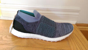 4524146e0d2ad NWT adidas Ultraboost Laceless Parley Shoes Size 9