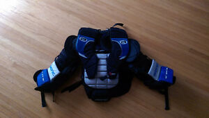 Bionic goalie chest protector