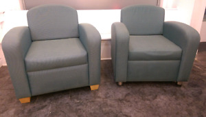 Two good condition armchairs for $150