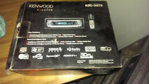 Amazing kenwood deck with speakers!!