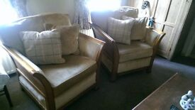 A pair of Windsor armchairs for sale