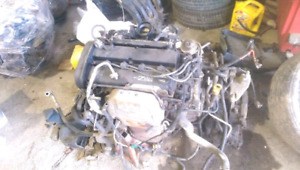 Ford focus Engine with the transmissions