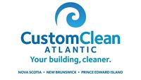 M-F 6pm-10:30/12:30 CLEANING POSITION IN NEW GLASGOW