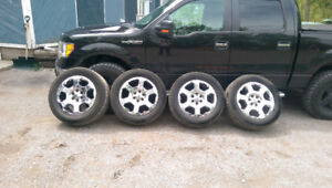 """F150 20"""" Tires and Rims"""