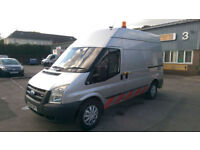 FORD TRANSIT 350 MWB HIGH ROOF 2.4 RWD 140 COMPRESSOR VAN 2008 58