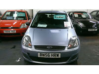 FORD FIESTA 1.4 STYLE DIESEL 5 DOOR £30 TAX ONLY £15 WEEK P/LOAN AVE MILES 2006