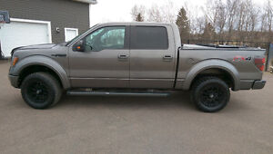 PROFESSIONALLY CUSTOMIZED  2012 Ford F-150 CrewMax