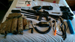 Tippmann A-5 Paintball Set