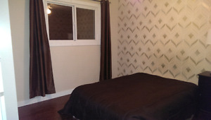 Large main floor room for rent available immediately