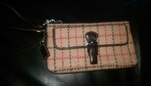 Coach and Roots wallets wristlet