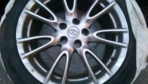 2007 Infiniti G35 Sport, 4dr, winter tires, no accidents, clean