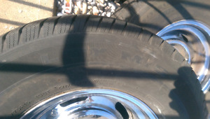 C10 Chevy rims and tires 235/75r15 Michelin ltx MS2