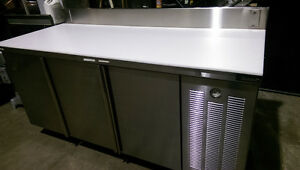 (CUSTOM DIAMOND) 6/FT REFRIGERATED BAKERS PREP TABLE