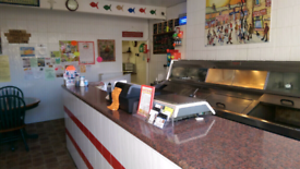 Freehold fish and chip shop for sale