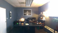 Semi Furnished office space for lease, Newly Renovated