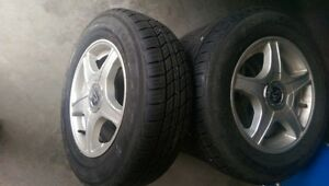 Summer Tires (Mounted) For Sale