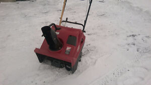 Gas Snow Blower with electric start or pull start