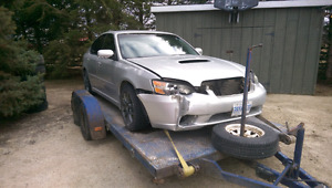 2005 Legacy GT. 5MT Turbo. Damage