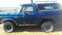 1979 Ford Bronco SUV, Crossover