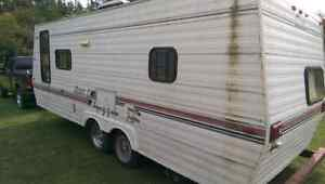 Junking a Travel Trailer
