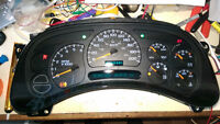 GM 2004 cluster instrument Panel (203515Kms)