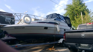 25 foot bayliner with trailer
