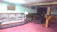 Basement available in South Windsor