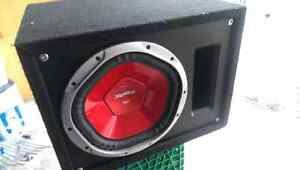 1200W Sony Xplod Subwoofer and Amplifier