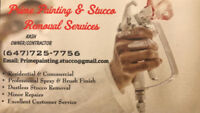 Prime Painting & Stucco Removal Services