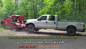 WE PAY TOP CASH FOR SCRAP CARS